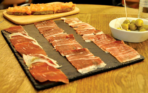 """best Spanish ham London"""