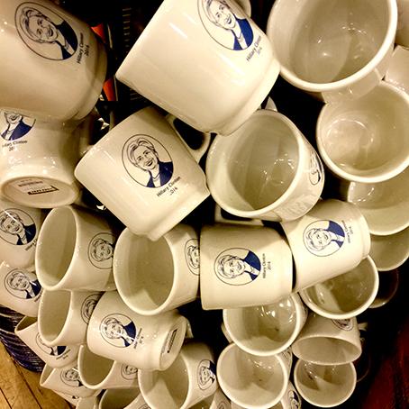 Hillary Clinton mug Fishs Eddy